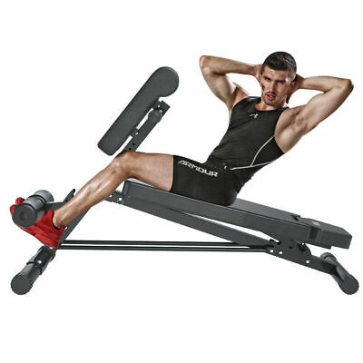 Heavy Duty Fitness BackHyper Extension Exercise Bench Hyperextension Roman Chair • 99.70£