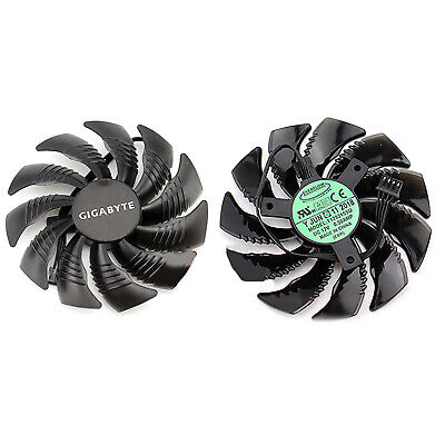 AU12.24 • Buy Graphics Card Cooling Fan Replacement For Gigabyte GTX1060 1070 1080Mini ITX SDE