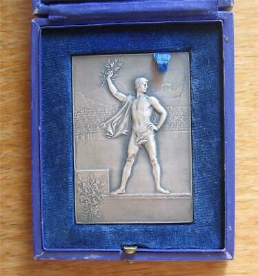 £253.51 • Buy Silver-Plated Bronze Medal 1900 Paris Exposition / Olympic Games By Vernon