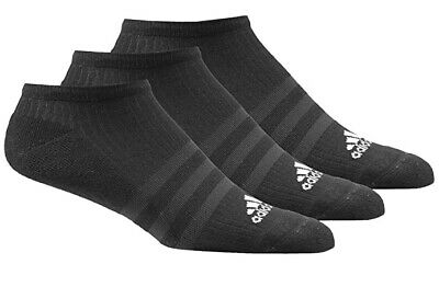 AU14.49 • Buy 3 PACK - Adidas No Show Invisible Liner Ankle Socks - Mens Womens Ladies - Black
