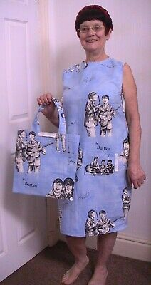 £500 • Buy Beatles Dress And Album Bag, Handmade, Circa 1964, Both In Excellent Condition.