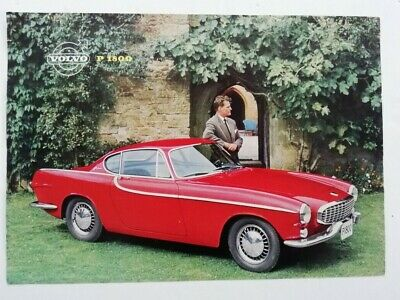 Volvo P1800 Sales Brochure • 10£