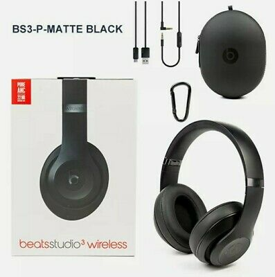 Beats By Dr. Dre Studio3 Wireless Over The Ear Headphones - Matte Black  • 134£