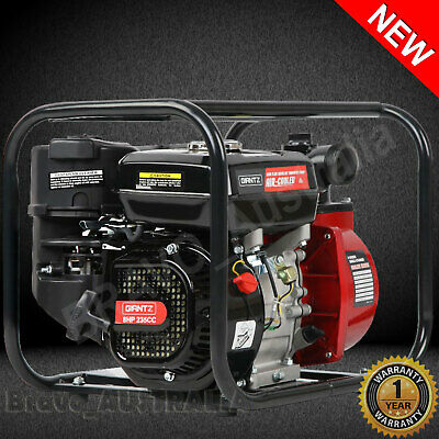 AU215.90 • Buy 8HP Water Transfer Fire Fighting Pump Petrol 235cc Solid Impeller 30,000 L/hour