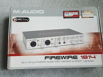 $169.93 • Buy M-Audio FireWire 1814 Digital Recording Interface Complete Accessories/Software