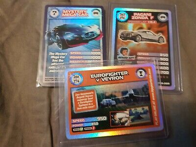Super Rare Top Gear Cards And Mega Mystery  Mint • 22£