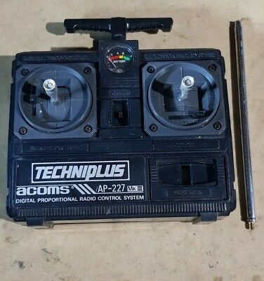 Acoms Techniplus AP-227 27MHz 2 Channel Radio Controller Transmitter Spares • 15£