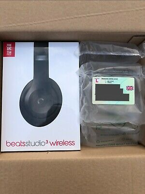 Beats By Dr. Dre MQ562LL/A Studio 3 Wireless Headphones - Matte Black • 210£