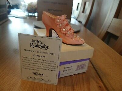 Just The Right Shoe - Promenade 25018 From Shoes Of 20th Century, 1998 Certified • 5£