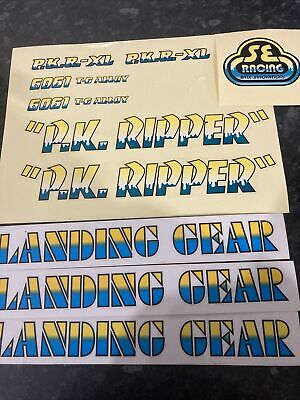 Se Racing, Pk Ripper Decals, Stickers.  • 9£