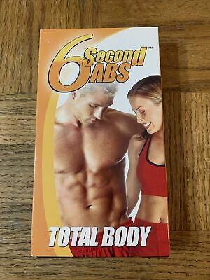 AU15.10 • Buy 6 Second Abs Total Body VHS