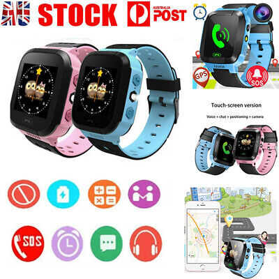 AU22.99 • Buy Kids Smart Watch Camera GSM SIM SOS Call Phone Game Watches For Boys Girls Gifts
