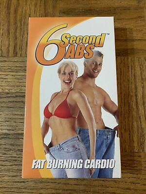 AU15.10 • Buy 6 Second Abs Fat Burning Cardio VHS