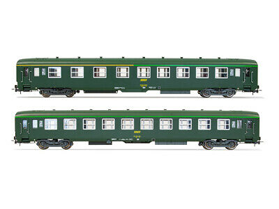 AU234.69 • Buy Jouef HJ4133 Set Cot Bed Dev Version Long Livery Green SNCF Logo Encadré