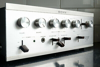 Sony TA-1122 A Stereo Integrated Amplifier - Stunning Amp From 1967! • 275£