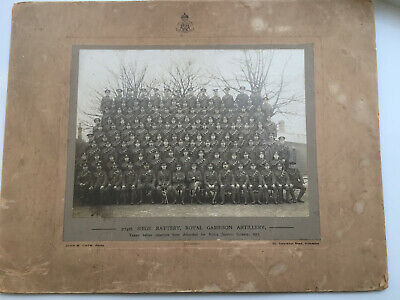 Original WW1 Photgraph Of 274th Siege Battery , Royal Garrison Artillery • 21£