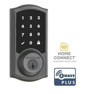 $ CDN137.99 • Buy Kwikset 916 TRL-ZW SmartCode Touchscreen Electronic Deadbolt Dark Bronze