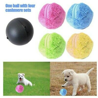 AU11.26 • Buy Pet Dog Cat Toy Electric Magic Fun Roller Ball Automatic Motion Activate Rolling