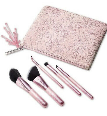$59 • Buy MAC Frosted Firework Collection Sparkler Mini Brush Set. (6 Pieces)+ Bag NEW