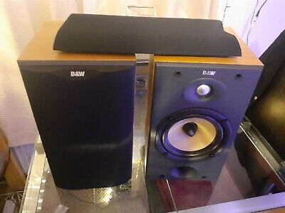B&W DM-601 S2 Bowers Wilkinson Bookshelf Speakers +box,cable  • 112£