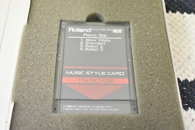 AU27.01 • Buy Roland TN-SC1-06 Piano Bar Music Style Card