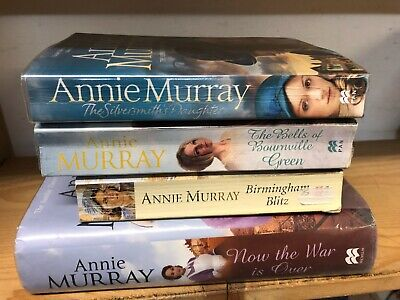 Job Lot Collection Of 4 Annie Murray Adult Fiction Books • 10£