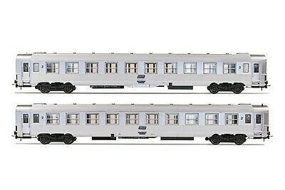 AU234.08 • Buy Jouef HJ4137 Set 2 Dev Inox B10j 2a Class Compartment, Bellows Of Origin SNCF