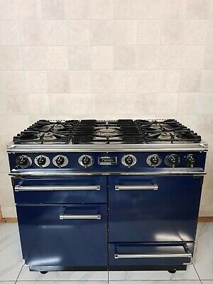 All Gas Falcon 110 Cm Range Cooker In Blue And Chrome. Ref--k2 • 1,390£