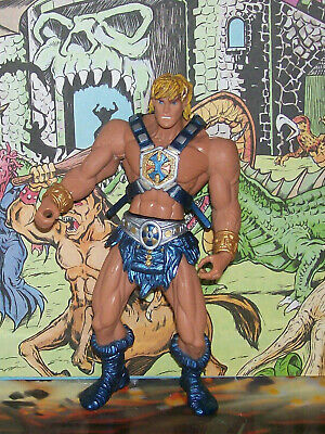 $10.99 • Buy Masters Of The Universe 2001 He-man Action Figure Good Condition Mattel