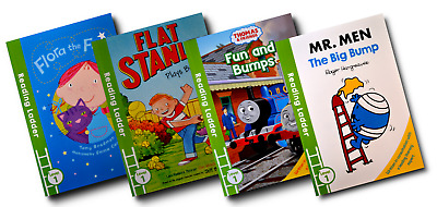 Reading Ladder Level 1 – Early Reading [4 Book Set] (PB) • 7.49£