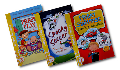 Reading Ladder Level 3 – Early Reading [3 Book Set] (PB) • 5.99£