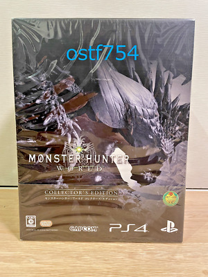 AU287.36 • Buy PS4 Monster Hunter World Collector's Edition PlayStation 4 Figure Sound Track CD