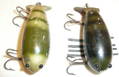 $ CDN12.75 • Buy 2 Wooden Creek Chub Baby Crawdads River Peeler & Natural Crab Finishes