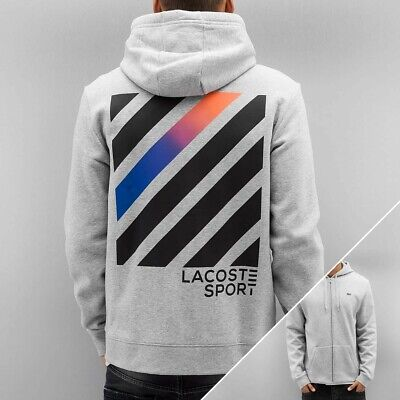 £40 • Buy Mens Lacoste Hoodie Grey Brand New With Tags Size 4 (Medium)