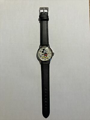 Disney By Ingersoll Mickey Mouse Classic Ladies Watch • 10£