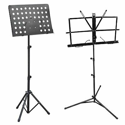 £10.99 • Buy Music Orchestral Stand Sheet Holder Adjustable Heavy Duty Foldable Tripod Base