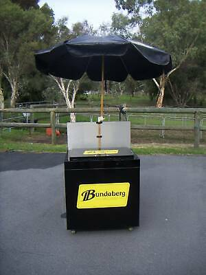 AU375 • Buy Portable BBQ 4 Burner Complete With Esky, Cooking Utensils, Bundaberg Souvenior
