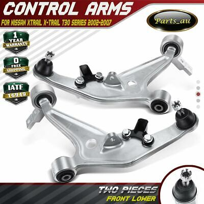 AU189.99 • Buy 2x Lower Front Left & Right Control Arms For Nissan Xtrail X-Trail T30 2002-2007