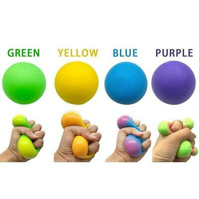 $ CDN5.24 • Buy Rainbow Ball Stress Ball Squeeze Relief Novelty Squishy Soft Funny Joke Toy Hot