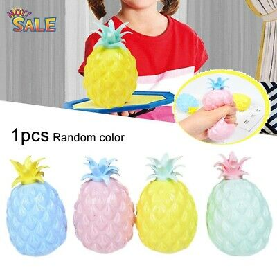 $ CDN6.43 • Buy Pineapple  Ball Stress Ball Squeeze Relief Novelty Squishy Soft Funny Joke Toy