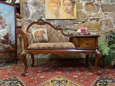AU132.50 • Buy Stunning Vintage French Louis Style Telephone Table/Chair~Chaise~Drawer
