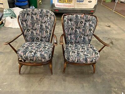 Ercol 477 Arm Chairs X 2 Used Good Condition (G)   • 149.99£