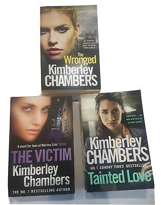 Kimberley Chambers Collection - 3 Books Tainted Love The Victim The Wronged • 9.99£
