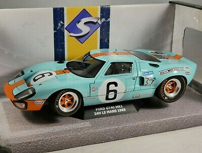 1969 FORD GT40 Mk1 Winner Le Mans 1/18 Scale Model By SOLIDO • 54.99£