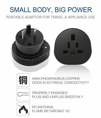 AU11.98 • Buy AU STOCK Universal Australia Travel Power Plug Adapter Converter US/EU/UK To AU