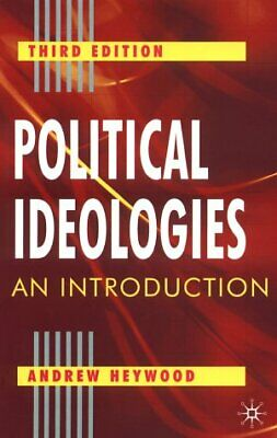 Political Ideologies : An Introduction Paperback Andrew Heywood • 4.88£