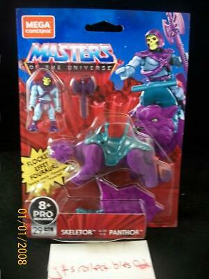 $34.95 • Buy Mega Construx Masters Of The Universe Skeletor And Flocked Panthor MOTU New