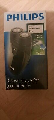 New Philips Electric Shaver Plus Battery Operated PQ203 Cordless Electric Shaver • 7.50£