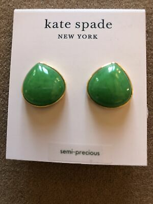 $ CDN38.28 • Buy Kate Spade Semi-Precious Green Pearl Drops Stud Earrings