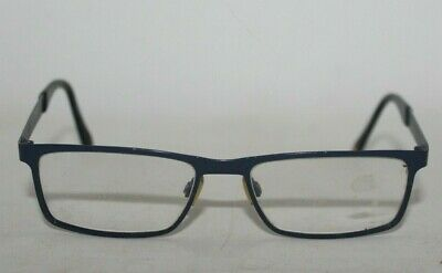 Hugo Boss - Boss Orange Blue Mens Rectangular Metal Glasses Frames • 26£
